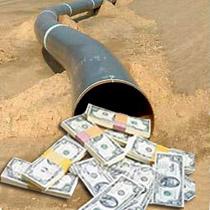 Валютний ринок України: 11 мільярдів доларів витекли в трубу.