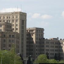 Університет Каразіна палав як ринок «Барабашово»