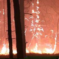 Пожежу в Ізюмі погашено (МНС)