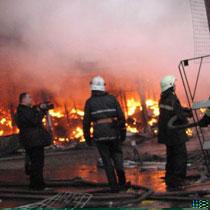 Барабашово знову палає. Пожежа тривала усю ніч (доповнено)