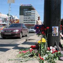 Давайте виїдемо на вулицю Шевченка, зіб'ємо там людину та скажемо, що винуваті дорогі (Є. Водовозов)