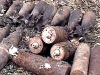У Харківській області знайдено артснаряди часів війни