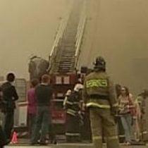 За добу це друга масштабна пожежа в російській столиці