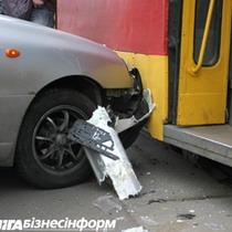 На дорогах Києва трапилося більше 200 аварій