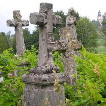 Двох річних малюків покинули на цвинтарі