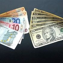 євро валюта долар