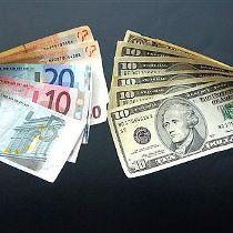 долар, євро