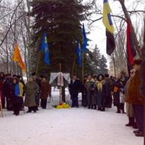 У Дніпропетровську зруйнували хрест на могилі бійців УНР