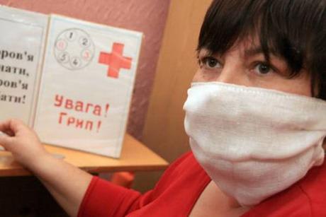 У Харкові вже є хворі на каліфорнійський грип. За минулий тиждень різними видами грипу захворіло 66 тисяч людей