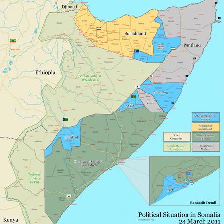На території Сомалі з'явилася нова самопроголошена держава - Азанія