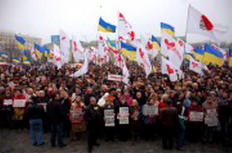 У Харкові відбувся пікет на підтримку Юрія Луценка і проти політичних репресій