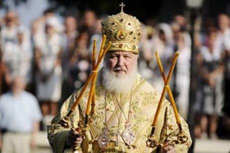Патріарх Кирил Російської Православної Церкви Московського Патріархату взяв участь у Богослужінні, яке відбулось на майдані Свободи