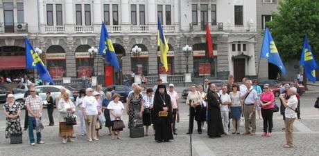 Мешканці Харкова відзначили роковини повернення Тарасового тіла до України