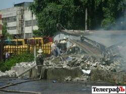 Магазин піротехніки вибухнув на Полтанщині. Під уламками є постраждалі (ФОТО)