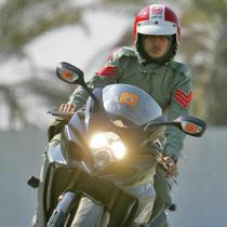 Харківських даішників пересадили на мотоцикли марки «Suzuki»