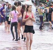 У Харкові відбувся водний флеш-моб