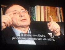 Документальний фільм з Латвії на засіданні клубу «Апостроф»