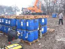 Ізраїльська фірма позбавляє Харківщину від сотень тонн застарілих хімікатів