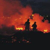 Харківські екологи б'ють на сполох: Біля Університету внутрішніх справ вже кілька днів горить звалище