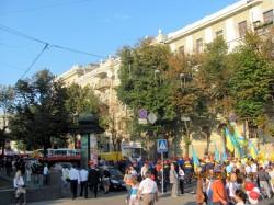 Міська влада застосувала адміністративний ресурс і змусила мешканців Харкова святкувати День Незалежності України в совєтському стилі