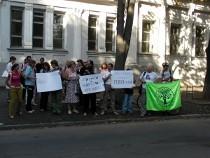 «Зелений фронт» пікетуванням підтримав російських захисників Хімкинського лісу