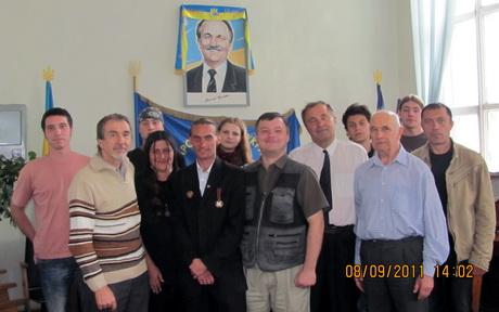 Народний Рух України відсвяткував 22-ту річницю своєї діяльності. Під час зборів також було повідомлено про судову тяганину з Балаклійською районної організацією НРУ