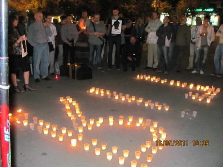 Мешканці Харкова вшанували світлу пам'ять Георгія Гонгадзе та інших загиблих журналістів