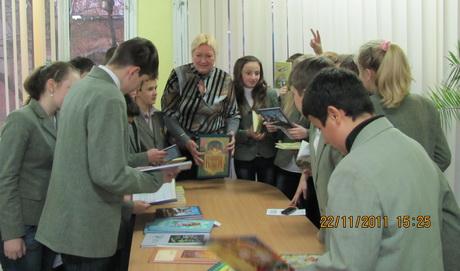 Харків відвідала відома дитяча українська письменниця, лауреат премії Лесі Українки Галина Малик