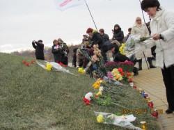 """Представники """"Батьківщини"""", ПРП та громадських організацій вшанували пам'ять жертв Голодомору-геноциду 1932-1933 років"""