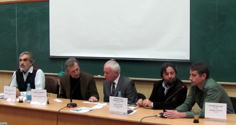 У рамках святкування 100-річчя з Дня народження відомого поета Чеслава Мілоша у Харкові відбулася третя панельна дискусія на тему «Пограниччя – зона великих єресей»