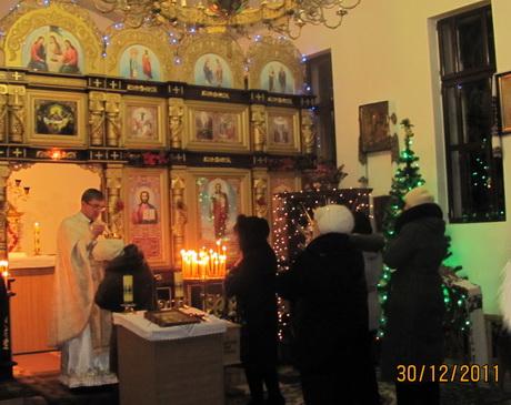 У Покотилівському монастирі Української Греко-Католицької Церкви відбулись передноворічні нічні чування