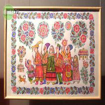 У Дніпродзержинську відкрився різдвяний арт-фестиваль. Музей історії міста влаштував на свято етно-культурну програму.