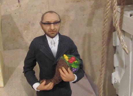 У Галереї «Маестро» триває виставка новорічних іграшок, сувенірів та дитячих малюнків