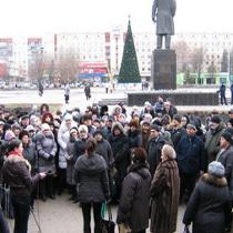 У Слов'янську підприємці протестують проти нових ставок єдиного податку