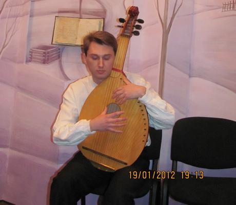 У Харківському літературному музеї 2012 рік почався з духовних піснеспівів