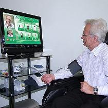 У дніпропетровській Центральній районній лікарні у рамках проекту реформування системи охорони здоров'я обстежують пацієнтів за допомогою програми Skype