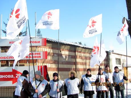«Батьківщина Молода» вже декілька днів поспіль пікетує Качанівську колонію