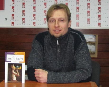 Харків відвідав знаний український письменник Тарас Антипович