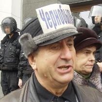 У Донецьку вкотре протестують ветерани-чорнобильці. Їх вимоги переважно політичні