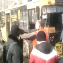 Водій горлівського тролейбуса жорстоко побив пасажира