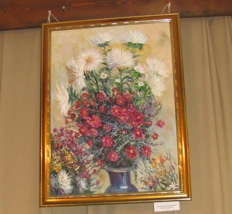 У Харківській галереї «Маестро» триває виставка картин романтичних весняних пейзажів, натюрмортів і квітів