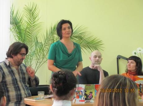 Харків відвідали фіналісти літературної премії «Великий Їжак»