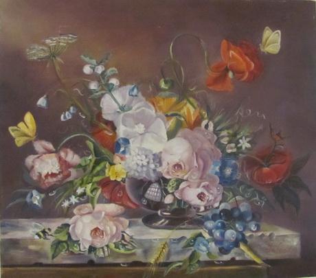 Весняні квіти й оригінальні натюрморти в галереї «Маестро»