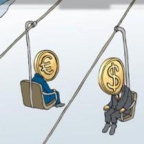 долар сша, євро
