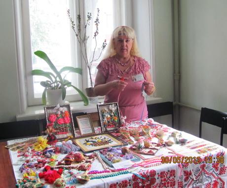 В рамках фестивалю «Екологія і духовність» відбулась виставка робіт декоративно-прикладного мистецтва Жанни Наумової