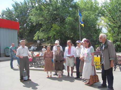 Харківці відзначили День Конституції та 71-шу річницю проголошення Акту відновлення Української Держави