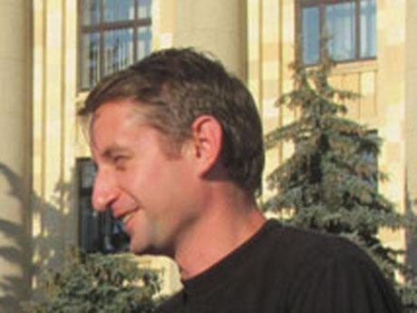 Відомий український письменник Сергій Жадан підтримав цілодобову акцію протесту на харківському Майдані Свободи