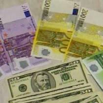 долар, євро, рубль,  валют