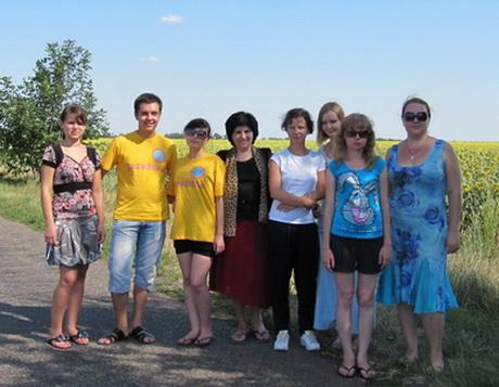 Молодіжний рух проекту «Україніка» продовжує знайомитися з духовними святинями України