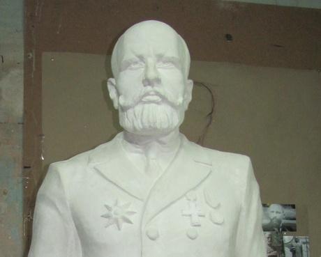 У харківській підпільній майстерні роблять пам'ятник Петру Столипіну